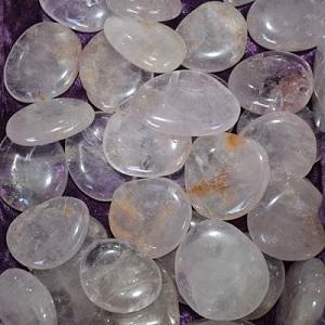 Flat Stones Amethyst Flat Stone