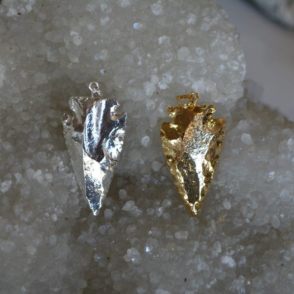 Carvings - by piece Arrowhead Electroplated