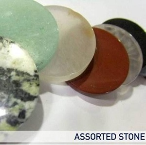 Flat Stones Assorted Stone Coins