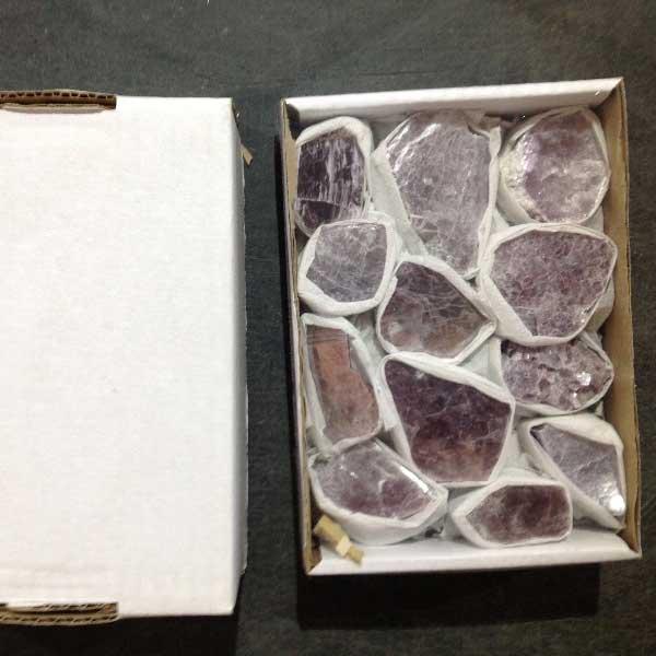 wholesale lepidolite box