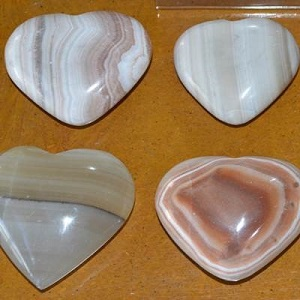 Hearts - by weight Chalcedony Heart