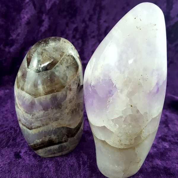 Amethyst Dog Tooth Standing