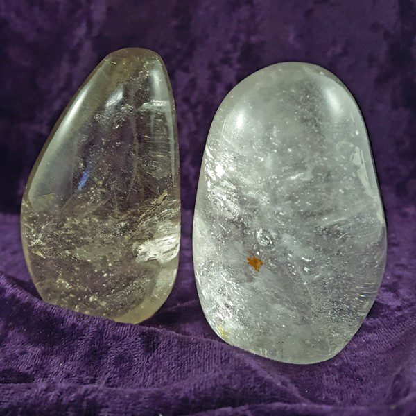 Smoky / Clear Quartz Standing