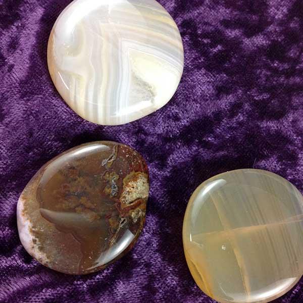 Agate Flat Stone