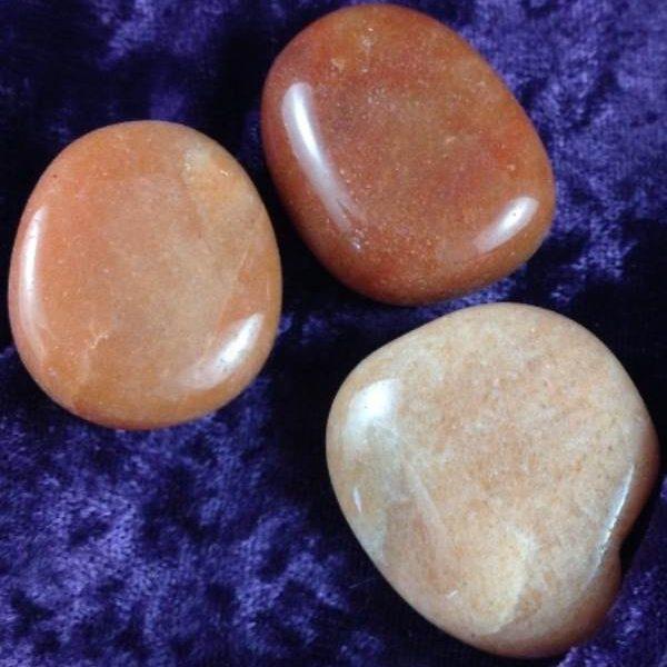 Flat Stones Carnelian Flat Stone