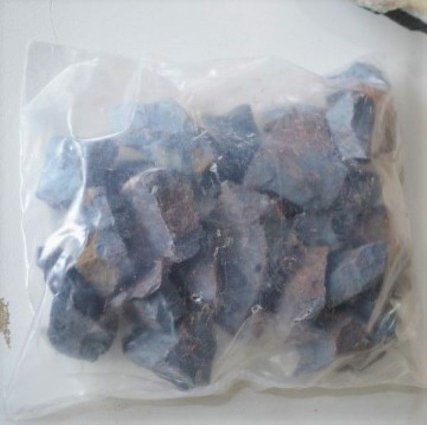 Bagged Stock Bag of Hematite Chunks