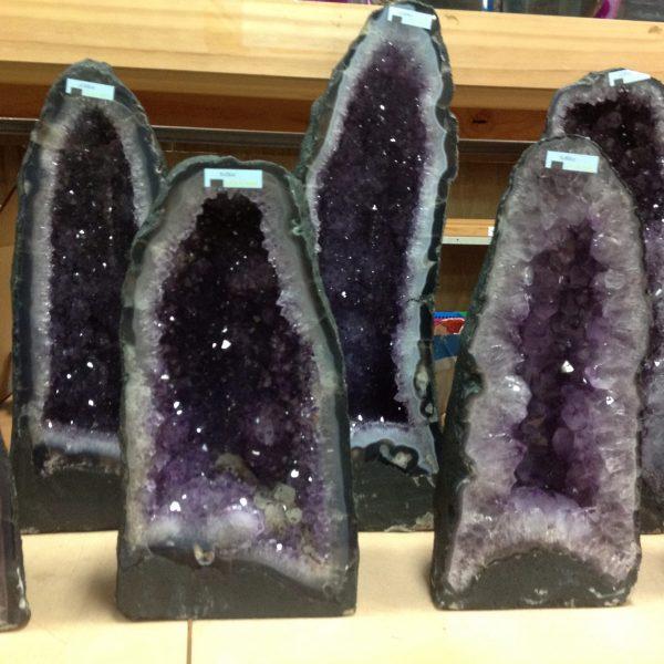 Geodes, Tables & Butterflies Amethyst Geode