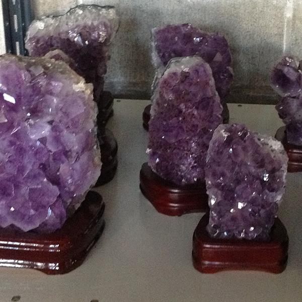 Lamp Amethyst Druze Ithaca Crystals