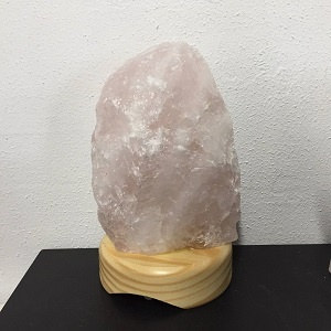 Lamps Lamp Rose Quartz Rough