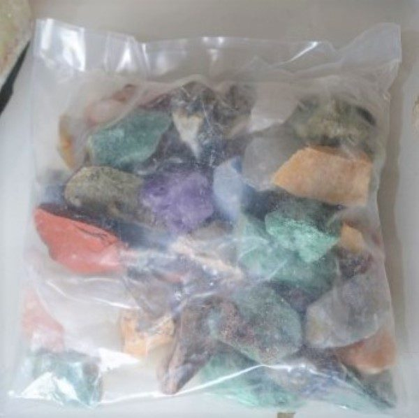 Bagged Stock Bag of Mixed Rough Chunks
