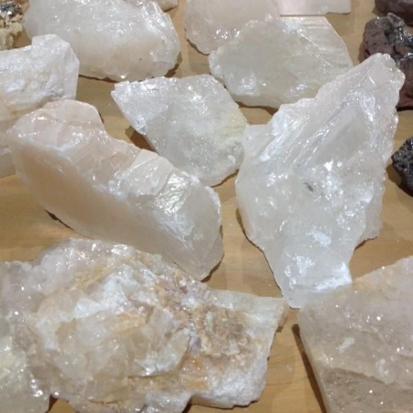 Calcites Calcite White Rough