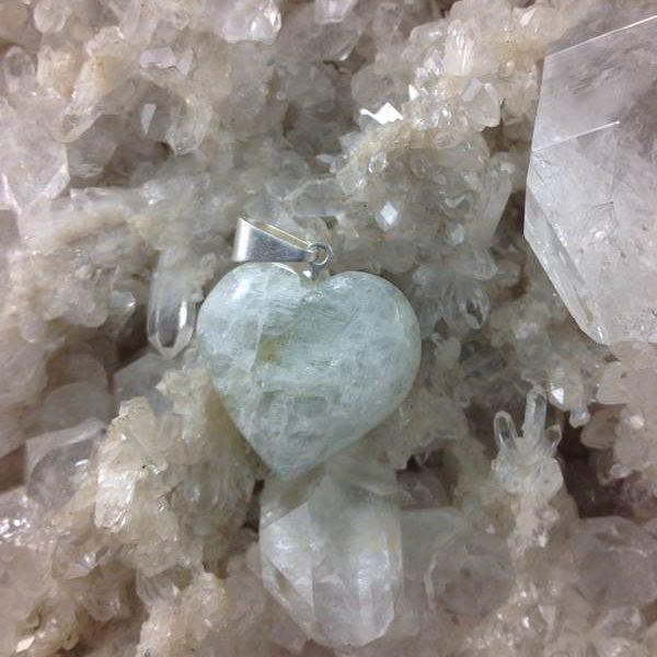 Jewellery Pendant Heart Crackle
