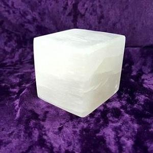 Selenite Selenite Cube