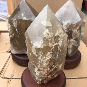 Lamps Lamp Smoky Quartz Point