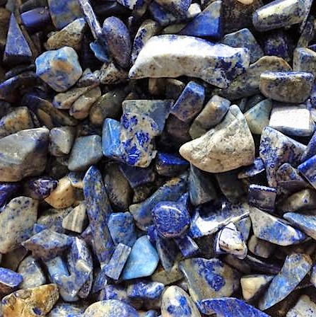 Chips - by weight Lapis Lazuli Chips