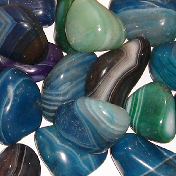 Dyed Agate Tumble Stone