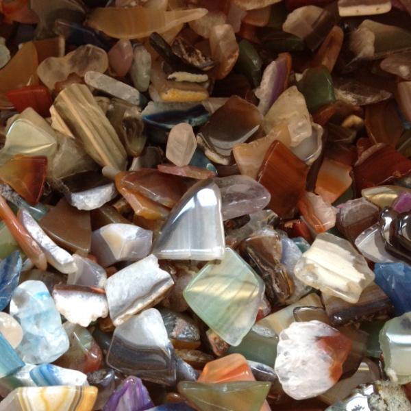 Agate Slice Tumble Stone