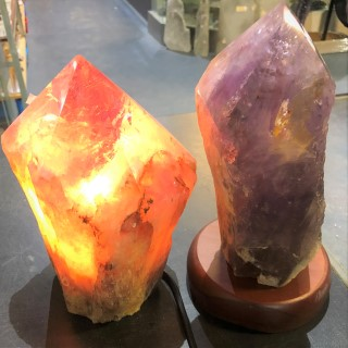 Amethysts Lamp Amethyst Point