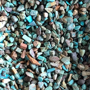 Chips - by weight Turquoise Chips