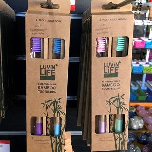Homeware Bamboo Toothbrush – 2 Pack