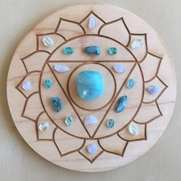 Kits & Geometric Shapes Grid Board – Round