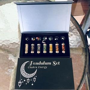 Jewellery Chakra Pendulum Sets